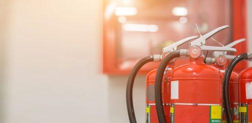 Onderhoud brandblusser